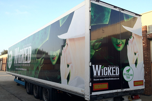 VEHICLE GRAPHICS AND LORRY WRAPS
